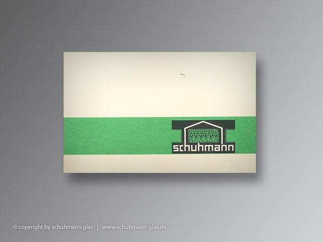 schuhmann glas - geschichte