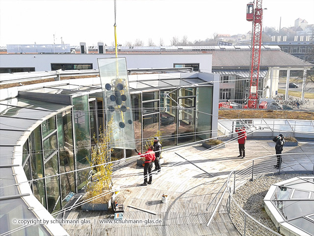 schuhmann glas - service - reparatur - montage
